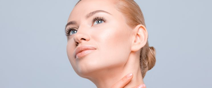 Woman with Slim Face by APT Medical Aesthetics Banner