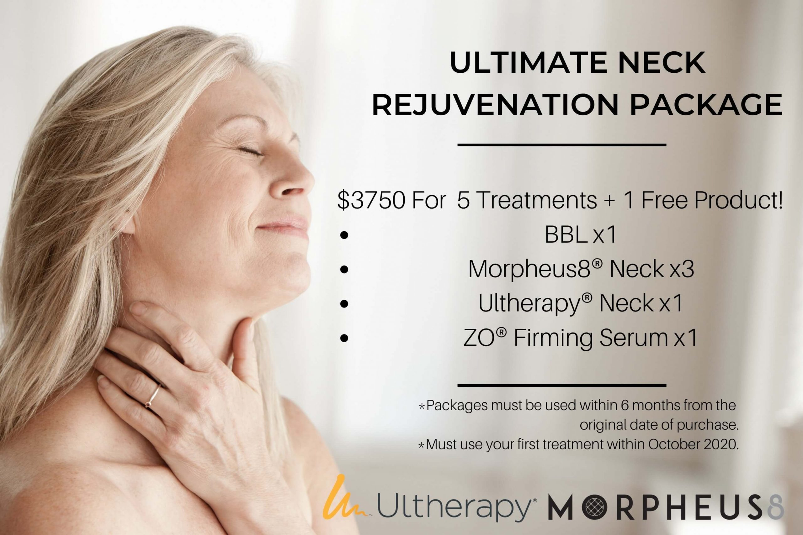 Monthly promotion Flyer - APT Medical Aesthetics