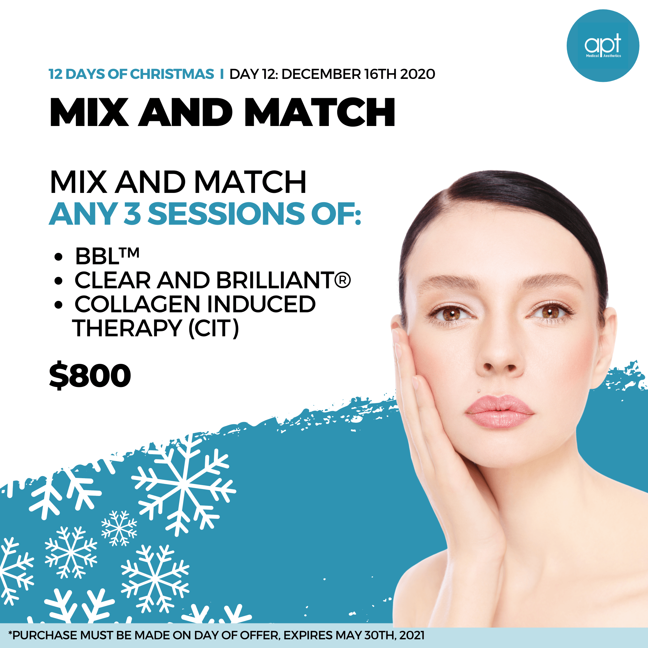 Monthly promotion Flyer Day 12 - APT Medical Aesthetics