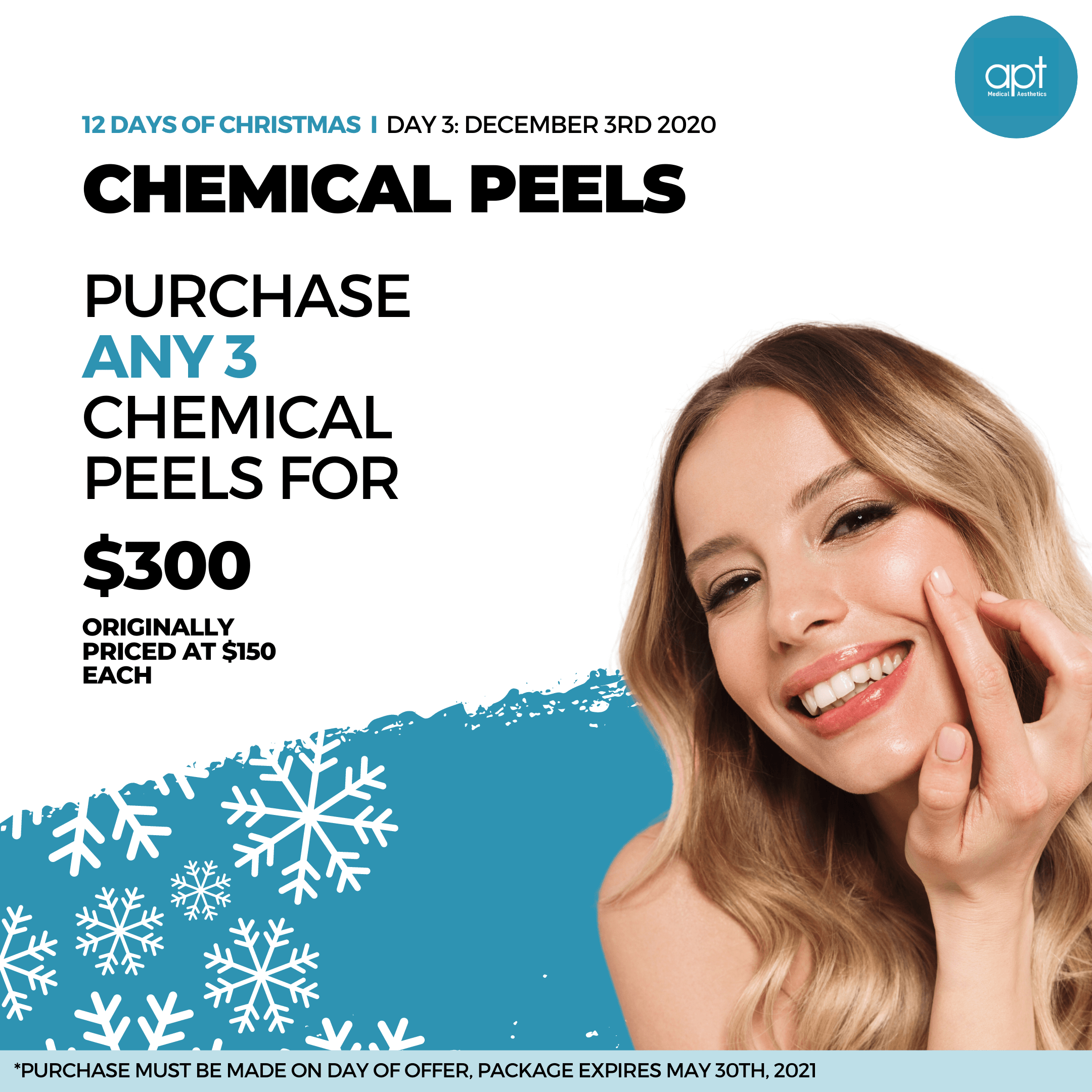 Monthly promotion Flyer Day 3 - APT Medical Aesthetics