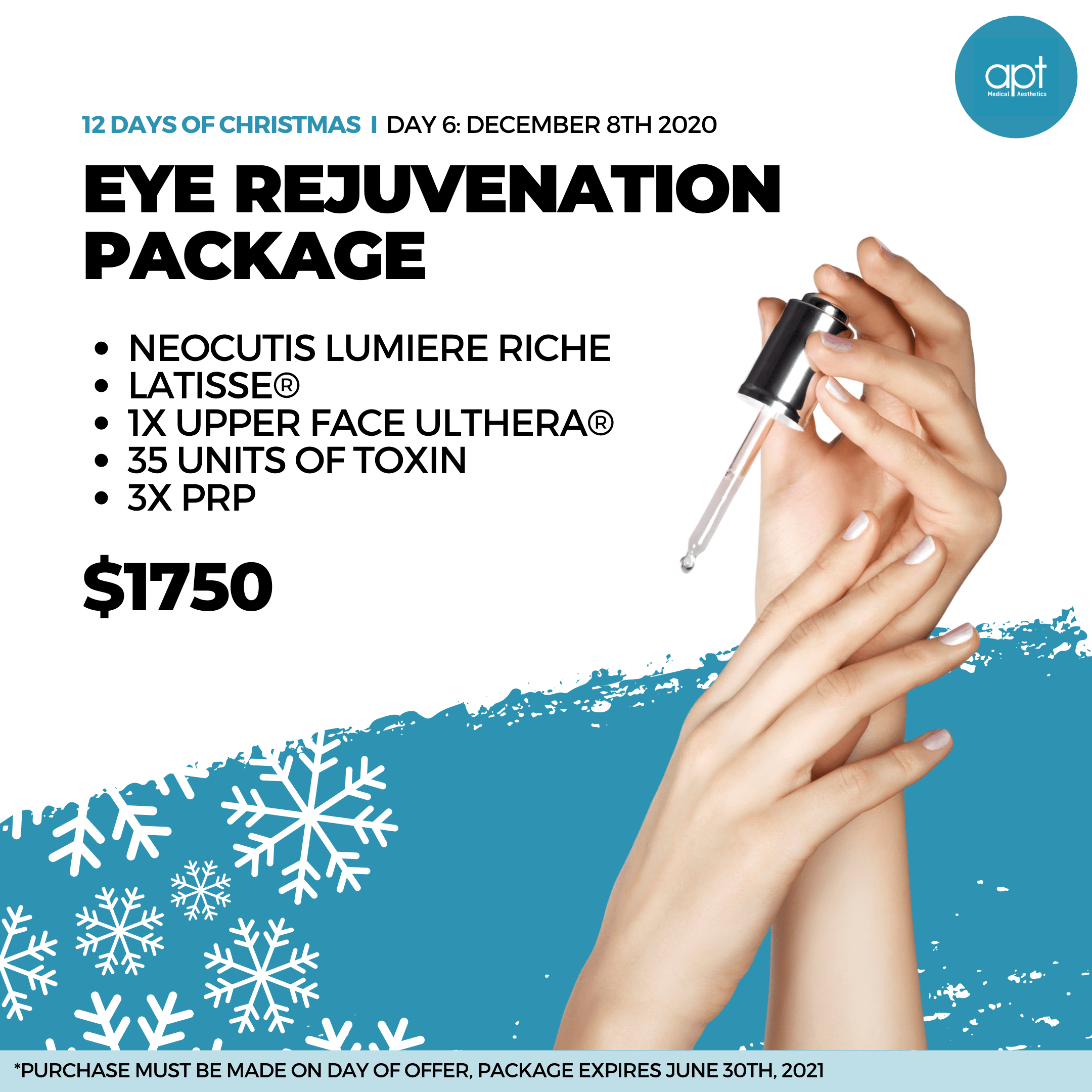 Monthly promotion Flyer Day 6 - APT Medical Aesthetics