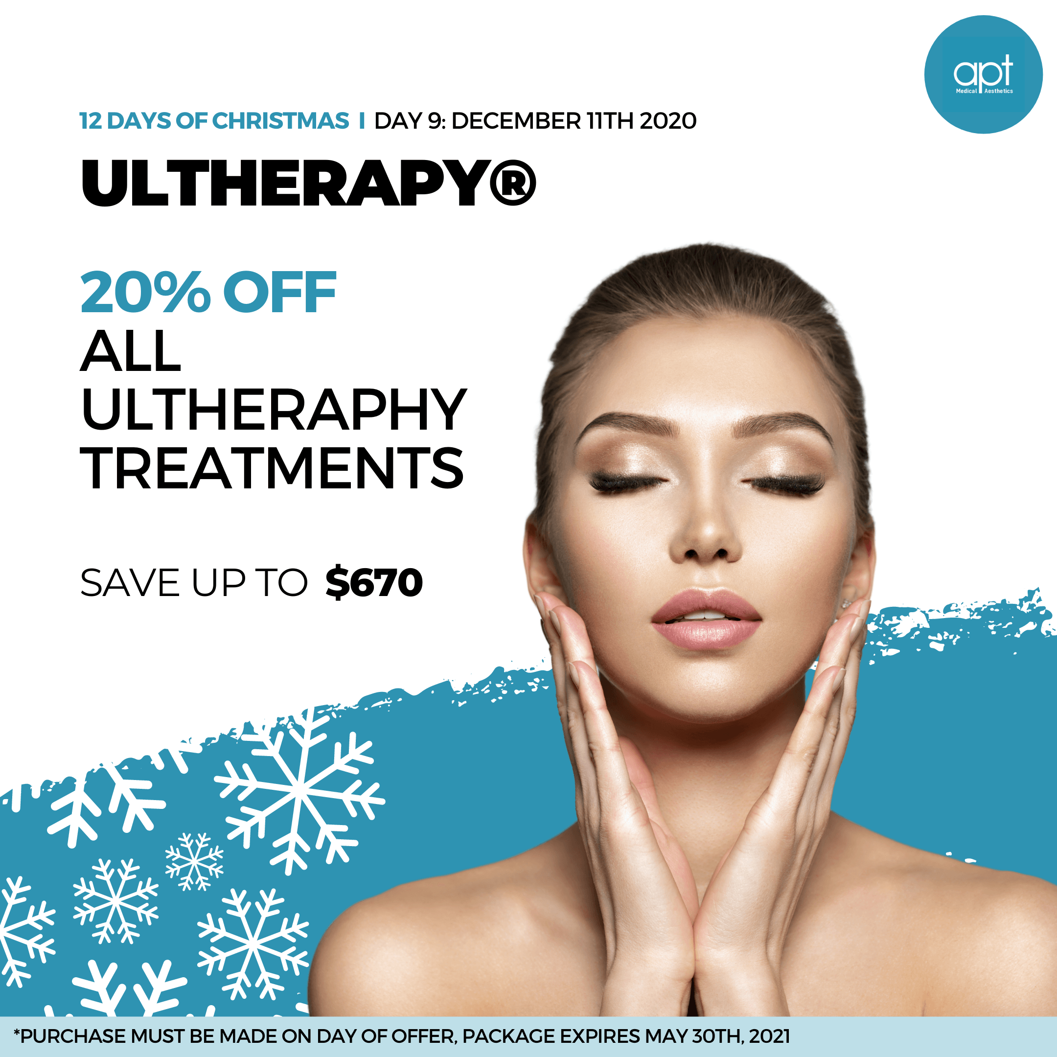 Monthly promotion Flyer Day 9 - APT Medical Aesthetics