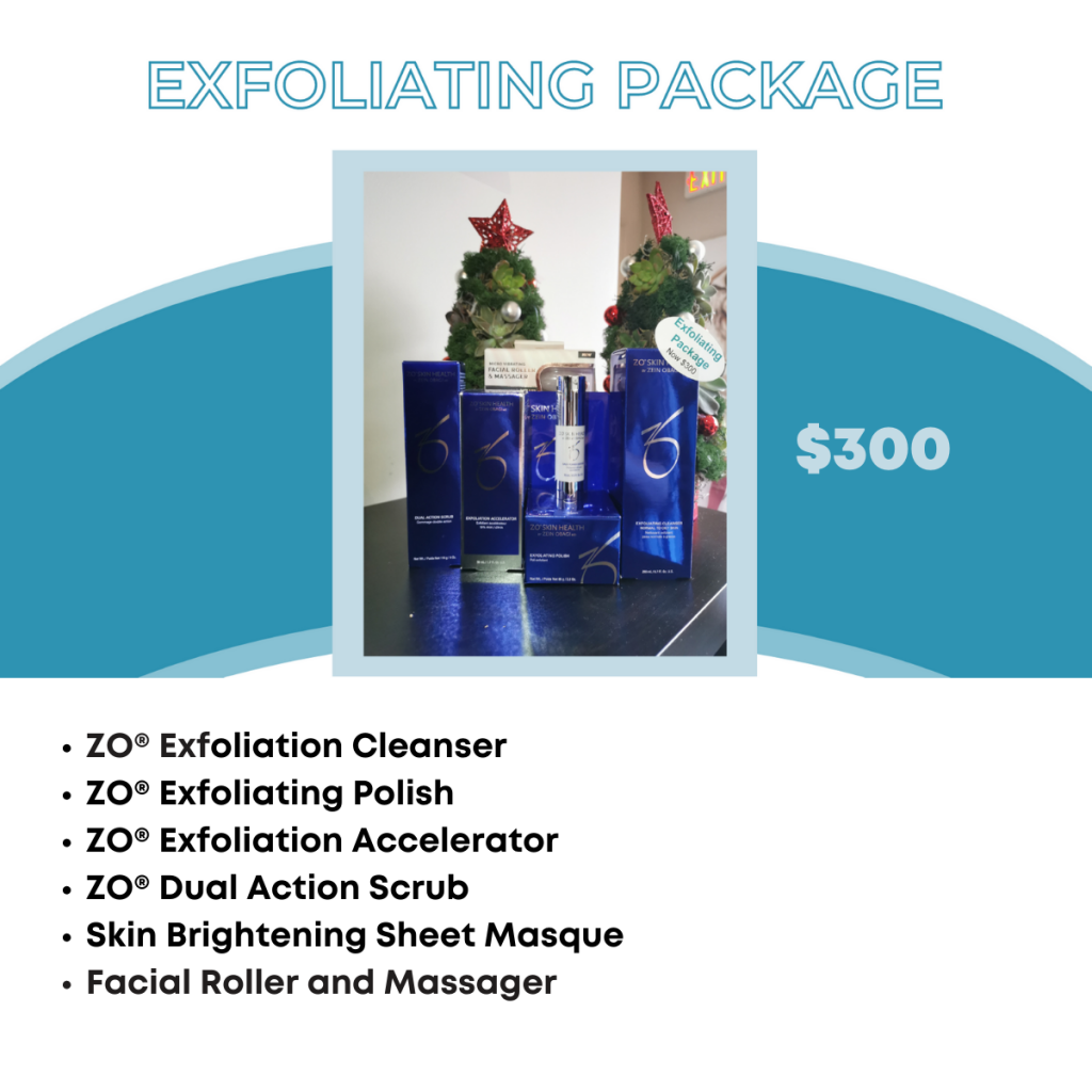 Exfoliating Package